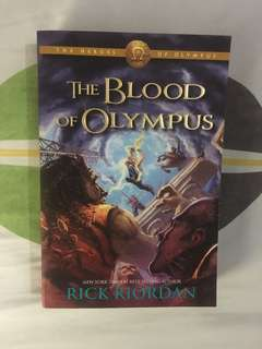 Heroes of Olympus – Book Five: The Blood of Olympus