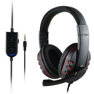xunbeifang For PS4 Wired  gaming Headset earphones with Microphone Headphones