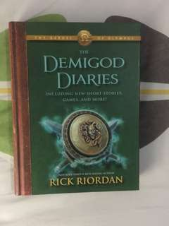 The Heroes of Olympus – The Demigod Diaries