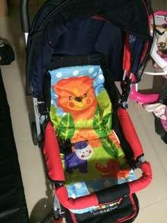 Stroller baby kereta dorong / sepeda dorong
