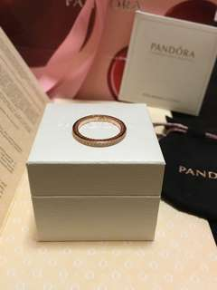 Authentic Pandora Thin Eternity Ring