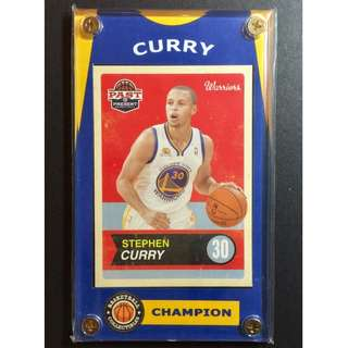 Stephen Curry Card - NBA Most Valuable Player