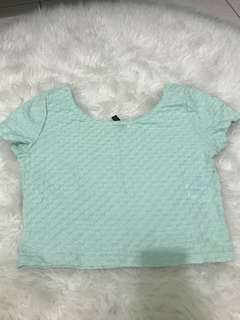 Mint Divided croptop!