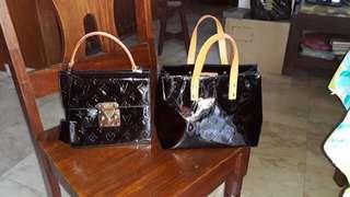 Authentic LV Vernis leather party bags (bundle)👍