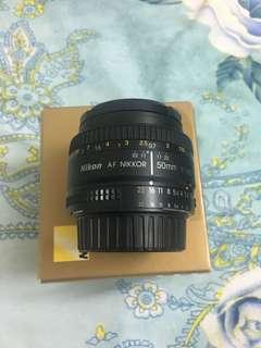 lens 50mm 1.8D