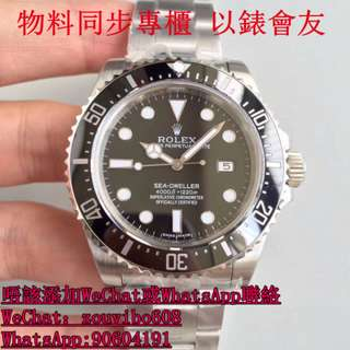 N厰 勞力士 Watch Sea-Dweller 4000 116600 面交