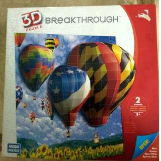 3D Breakthrough Puzzle