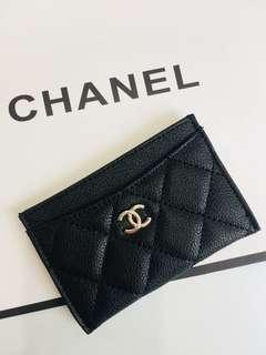 Chanel Card Holder 茘枝皮 專櫃贈品