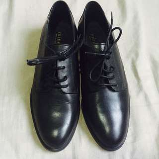 Minelli Classic Oxford Leather Shoes
