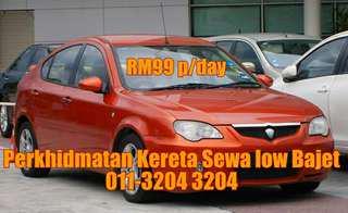 Kereta sewa RM99