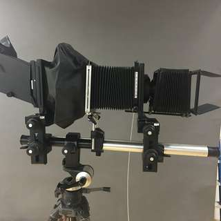 Sinar P and P2 Large Format Camera Bodies with Lenses, and Accessories