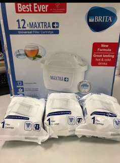 Brita 濾心plus 英國🇬🇧直送 (Brita mantra plus cartridge) HK$130/3 pcs