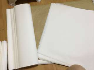 Bleach Greaseproof Paper Wrapping Postage Mailing Supplies