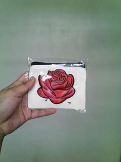 Rose wallet/coin purse