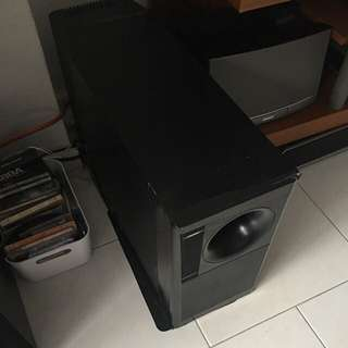 Bose woofer $100 ( No cables No power cord ) Able to test before you decide to buy