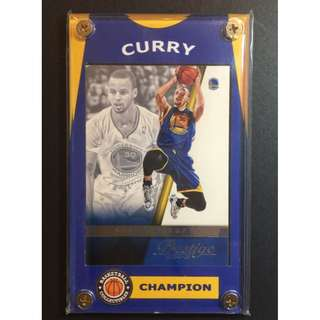 Stephen Curry Sports Card - GS Warriors Depending Champion