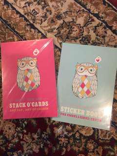 Typo DIY cards & Sticker Book