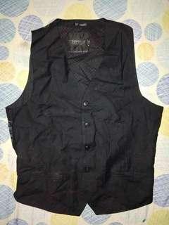 FreeShipping(ManilaOnly) Black Vest