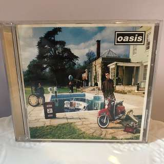 oasis BE HERE NOW CD album