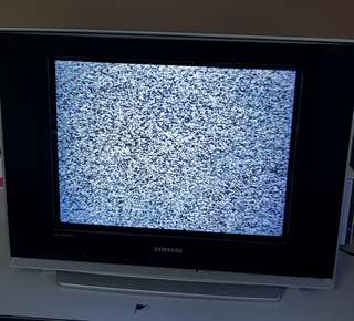 Samsung Slim CRT TV perfect working condition with remote