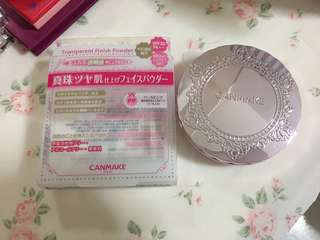 Canmake Transparent Finish Powder in Pearl Pink