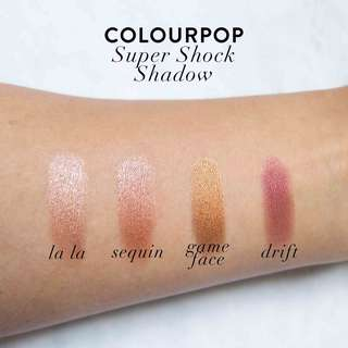 🚚 Colourpop SEQUIN Super Shock Shadow