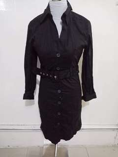 Corporate dress with belt