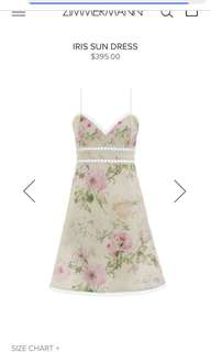 Zimmermann brand new dress