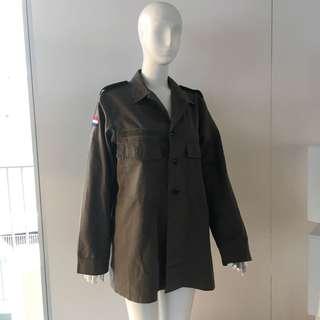 nederland army jacket 荷蘭軍褸