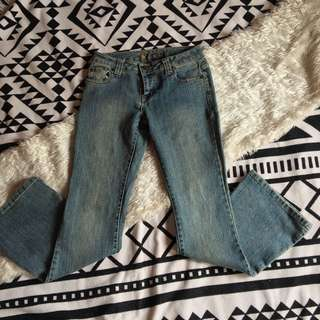 Wetseal Flare Jeans