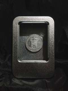 Uang Koin Kuno Belanda 1 G Tahun 1939