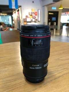Canon EF 100mm f2.8L macro is