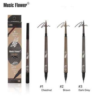 music flower eyebrow pencil