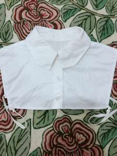 Fake Collar - Plain White