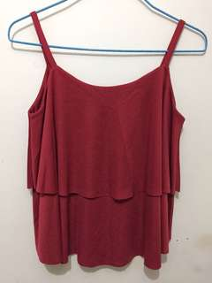 Camisole Top in Red