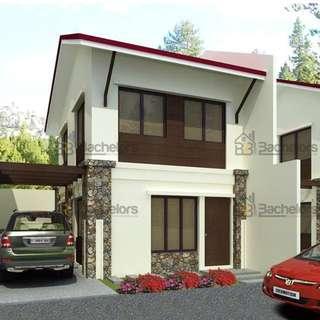LUANA HOMES SUBDIVISION - SINGLE ATTACHED Calajoan, Minglanilla, Cebu 3 BR. 2 Storey Single Attached House for Sale