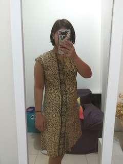 Batik dress Pithecanthropus #maudecay