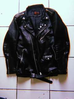 jaket kulit / leather jacket