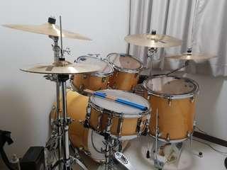 Yamaha Stage Custom Birch Shell pack/ Drum set