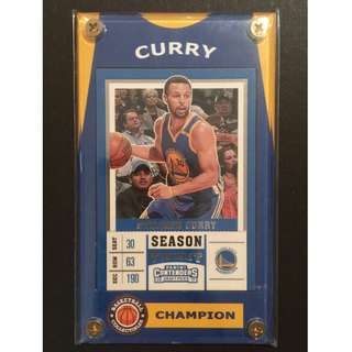 Stephen Curry Card - GSW NBA All-Star
