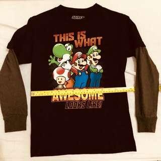 Long sleeve shirt - Super Mario
