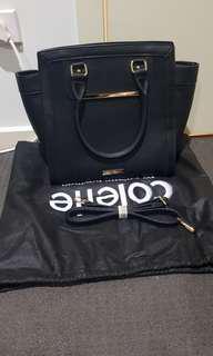 Never used black handbag