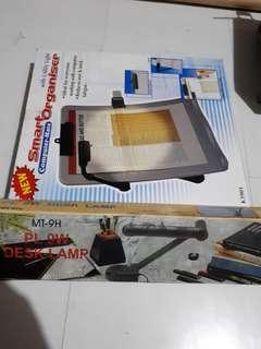 Desk lamp and smart organizer