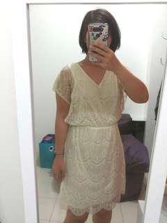 Lacey vintage dress