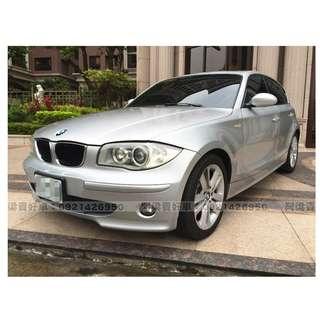 2006年-BMW-120d 柴油.貸款免擔心.讓我來幫你