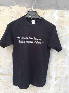 """Black T-Shirt """"Yajugaya"""""""