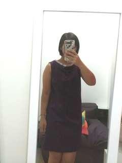 Purple dress body&soul #maudecay
