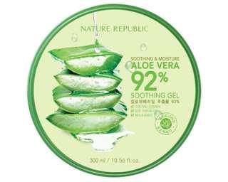 Nature Republic 92% Soothing Aloe Vera Gel