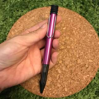 Lamy Al-Star 2018 Limited Edition Vibrant Pink Ballpoint Pen with guarantee card