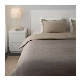 IKEA Malou Quilt Cover & 2 Pillowcases (King Size)